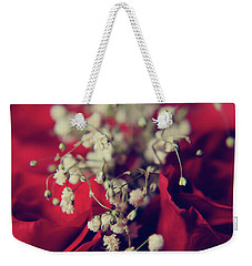 Weekender Tote Bag featuring the photograph Breath by Laurie Search