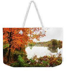 Breath Of Autumn Weekender Tote Bag