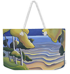 Breathe Weekender Tote Bag
