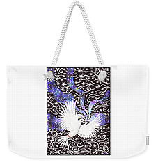 Breathing Life Into Darkness Weekender Tote Bag