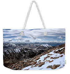 Weekender Tote Bag featuring the photograph Breathing More Than Just A Little by Jim Hill