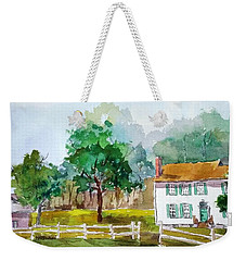 Brecknock Park Weekender Tote Bag by Larry Hamilton