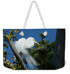 Weekender Tote Bag featuring the photograph Breeding Beauty by Fraida Gutovich