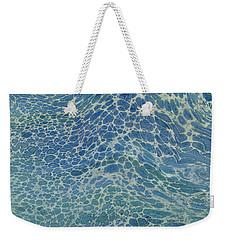 Breeze On Ocean Waves Weekender Tote Bag