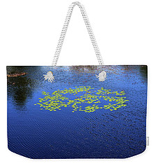 Breeze On The Water  Weekender Tote Bag by Lyle Crump