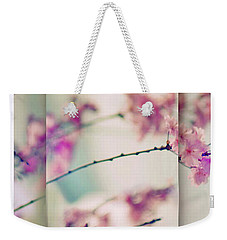 Weekender Tote Bag featuring the photograph Breezy Blossom Panel by Jessica Jenney