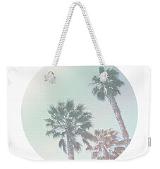 Breezy Palm Trees- Art By Linda Woods Weekender Tote Bag by Linda Woods