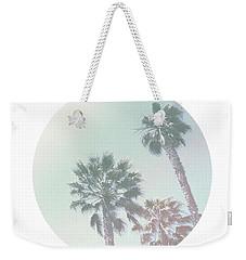 Breezy Palm Trees- Art By Linda Woods Weekender Tote Bag by Linda Woods