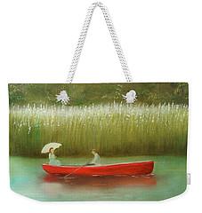 Breezy Spring Weekender Tote Bag