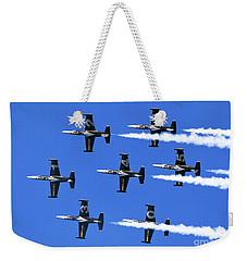 Breitling Air Display Team L-39 Albatross Weekender Tote Bag