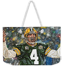 Brett Favre Weekender Tote Bag
