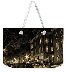 Weekender Tote Bag featuring the photograph Market Street by Robert Geary