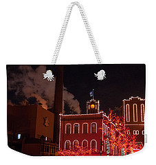 Brewery Lights Weekender Tote Bag