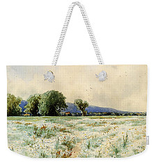 Bricher Alfred Thompson The Daisy Field Weekender Tote Bag