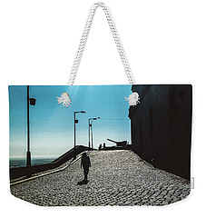 Weekender Tote Bag featuring the photograph Brick By Brick by Colleen Kammerer