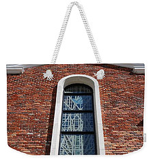 Weekender Tote Bag featuring the photograph Brick Church by Rob Hans