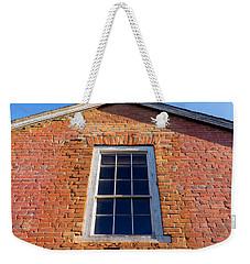 Brick House Window Weekender Tote Bag by Derek Dean