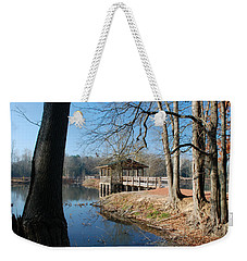 Brick Pond Park Weekender Tote Bag by Kay Lovingood