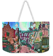 Bricks And Mortar Weekender Tote Bag