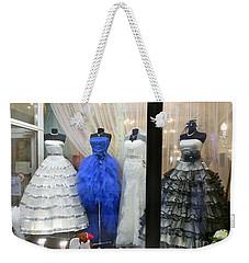 Bridal Fashion Of St. Petersburg Weekender Tote Bag by Margaret Brooks