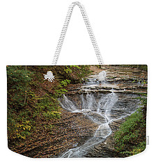 Weekender Tote Bag featuring the photograph Bridal Veil Falls by Dale Kincaid