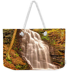 Bridal Veil Falls Weekender Tote Bag