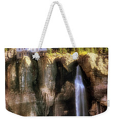 Weekender Tote Bag featuring the photograph Bridal Veil Falls Power Plant - Telluride - Colorado by Jason Politte