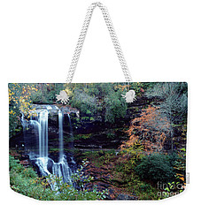 Bridal Veil Waterfalls Weekender Tote Bag