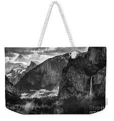 Bridalvail Falls And Half Dome Weekender Tote Bag