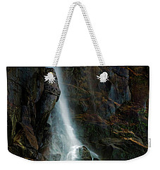 Weekender Tote Bag featuring the photograph Bridalveil Falls In Autumn by Bill Gallagher