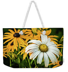 Weekender Tote Bag featuring the photograph Bride And Bridesmaids by Bill Pevlor