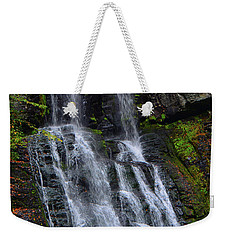 Weekender Tote Bag featuring the photograph Bridesmaid's Falls by Raymond Salani III