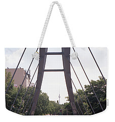 Bridge And Alexanderplatz Tower Weekender Tote Bag
