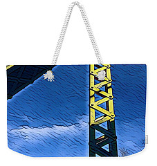 Bridge At Guerneville Weekender Tote Bag