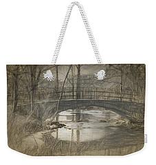 Bridge At The Fens Weekender Tote Bag