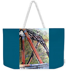 Bridge At Thurmond Wv Weekender Tote Bag