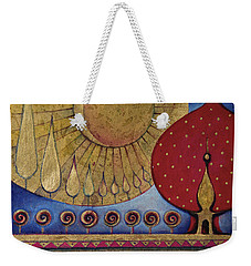 Bridge Between Sunrise And Moonrise Weekender Tote Bag