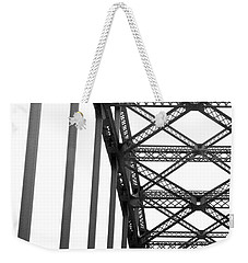 Weekender Tote Bag featuring the photograph Bridge by Brian Jones