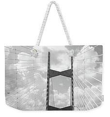 Bridge Clouds Weekender Tote Bag