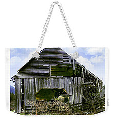 Bridge Creek Barn Weekender Tote Bag by Susan Leggett