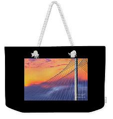 Bridge Detail At Sunrise Weekender Tote Bag