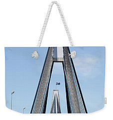 Bridge Flags Weekender Tote Bag