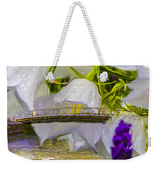 Bridge Flower.  Weekender Tote Bag