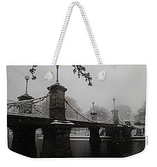 Bridge In Suspension 1867 Weekender Tote Bag