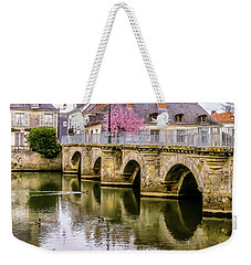 Bridge In The Loir Valley, France Weekender Tote Bag