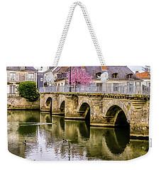 Bridge In The Loir Valley, France Weekender Tote Bag