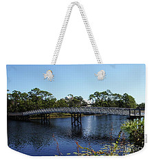 Western Lake Bridge Weekender Tote Bag