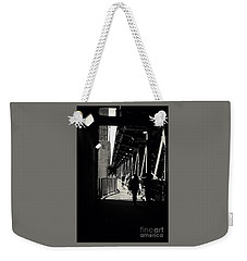 Bridge - Lower Lake Shore Drive At Navy Pier Chicago. Weekender Tote Bag