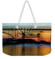 Bridge Motion Weekender Tote Bag