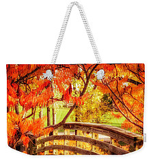 Bridge Of Fall Weekender Tote Bag
